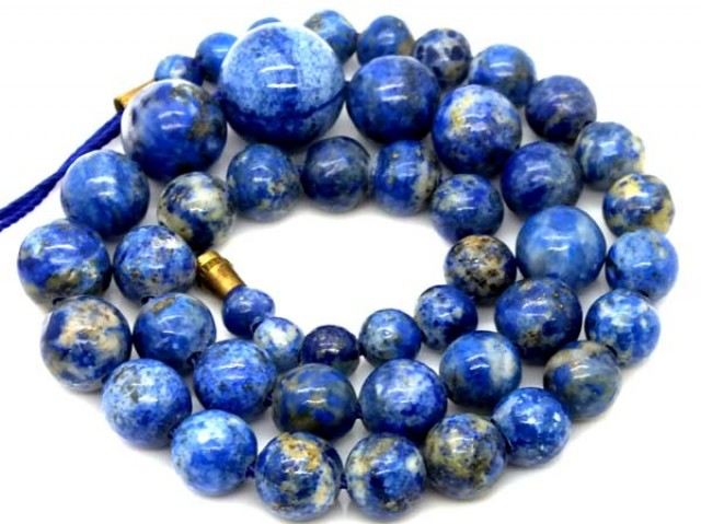 LAPIS BEADS DRILLED  NATURAL 200   CTS NP-243