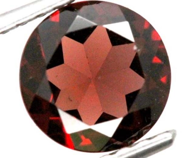 BURGUNDY RED GARNET FACETED 2.2  CTS TBG-804