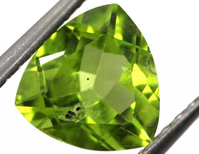 PERIDOT FACETED STONE 1.85 CTS TBG-814