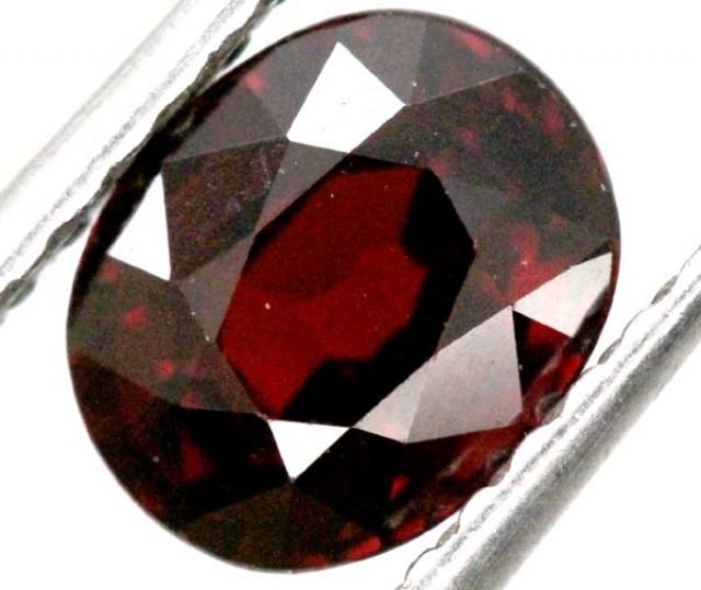 BURGUNDY RED GARNET FACETED 2  CTS TBG-842