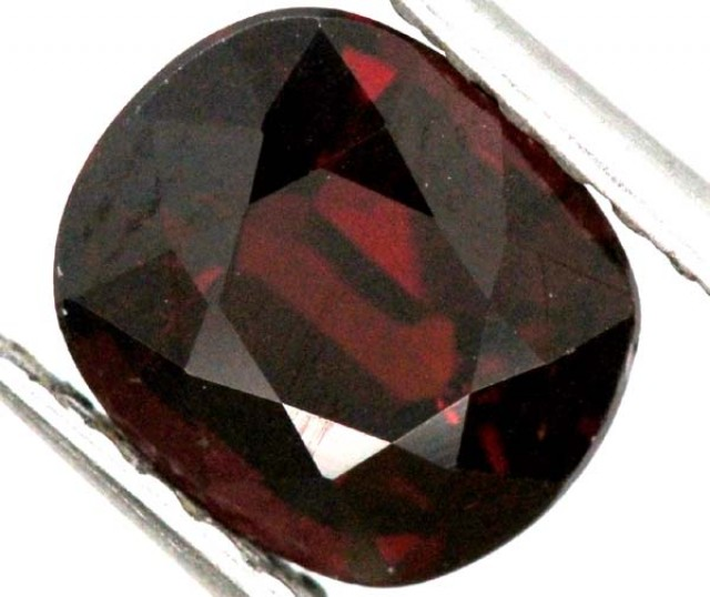 2 cts BURGUNDY RED GARNET FACETED 2  CTS TBG-846