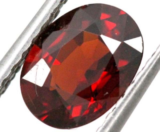 2 cts BURGUNDY RED GARNET FACETED TBG-848