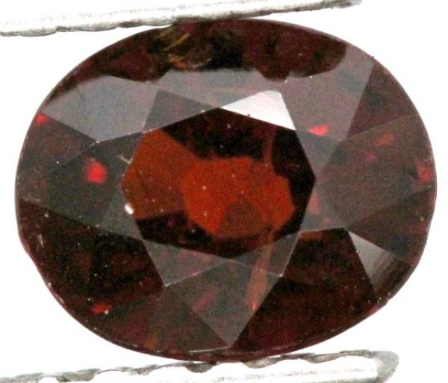 BURGUNDY RED GARNET FACETED 2  CTS TBG-849