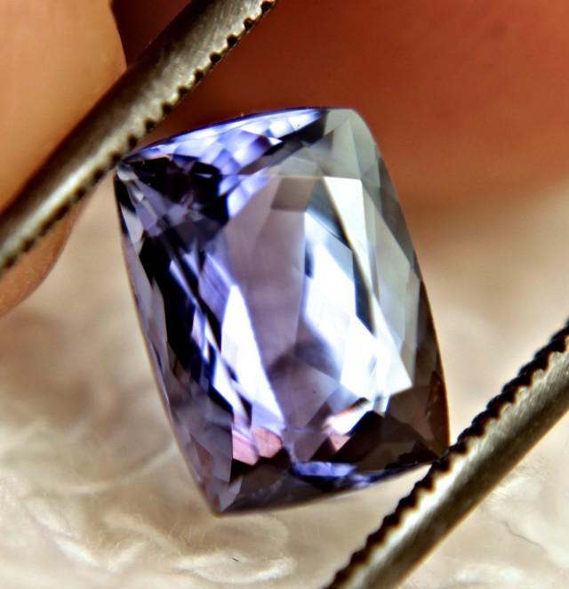 2.37 Carat Vibrant Blue African IF/VVS1 Tanzanite - Gorgeous