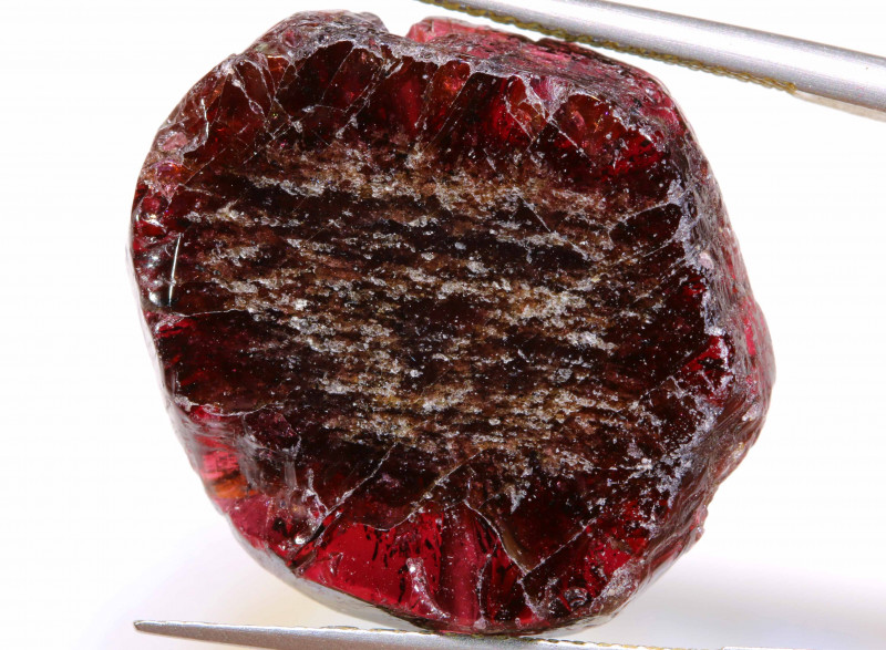 30.90CTS RUBY RED GARNET BEAD DRILLED  ADG-482