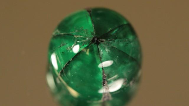 4.53ct Very Rare Untreated Trapiche Emerald