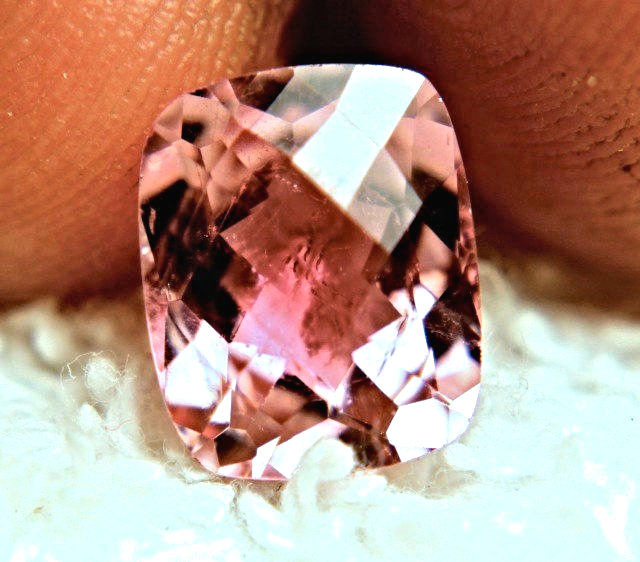 3.94 Carat Pink Checkerboard Tourmaline - Gorgeous