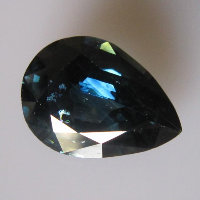 7.92cts Natural Blue Australian Sapphire Pear Cut