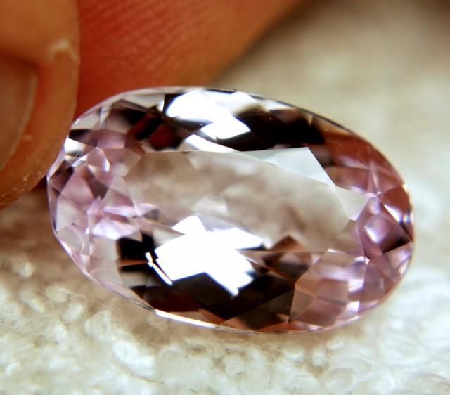 12.71 Carat VVS Himalayan Pink Kunzite - Elegant Gem