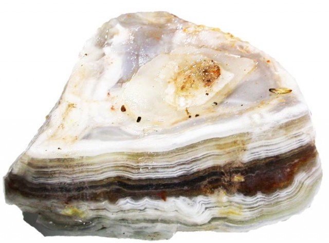 323.8 CTS LAGUNA LACE AGATE ROUGH -HAND PICKED [FLA66 ]