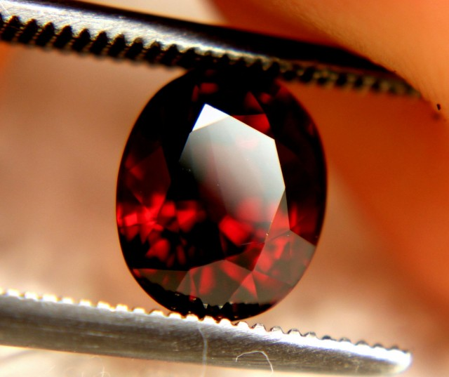 2.10 Carat Vibrant VVS1 Red Spessartite - Gorgeous
