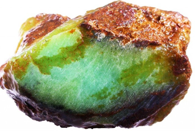 376.6 CTS CHRYSOPRASE ROUGH WEST AUSTRALIA[FLA323 ]