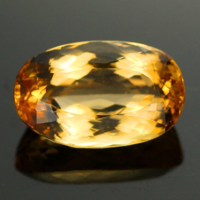 4.01 CTS CERTIFIED GOLDEN PRECIOUS TOPAZ [TPZ78]