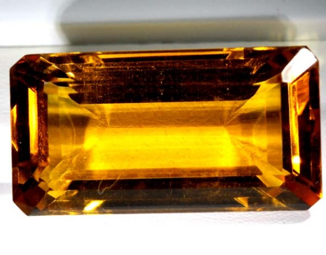 CITRINE FACETED NATURAL STONE 57.5  CTS TBM-371