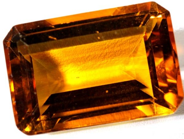 CITRINE FACETED NATURAL STONE 33.0  CTS TBM-376