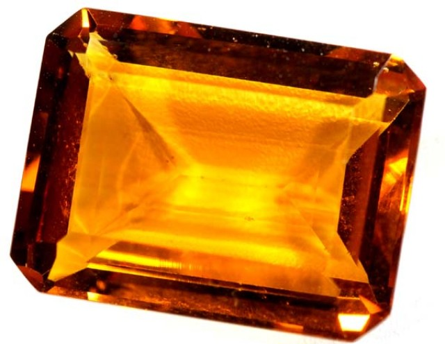 CITRINE FACETED NATURAL STONE 19.6  CTS TBM-379