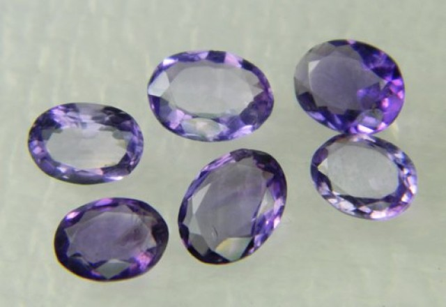 Lovley Brazil Amethyst Faceted  Natural Stone  Y165