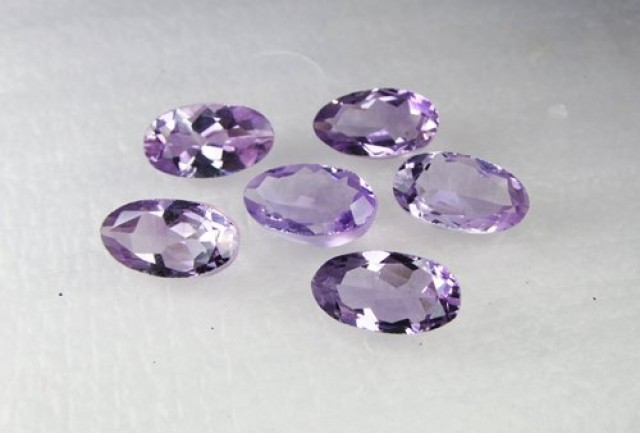 Natural Brazil Amethyst Faceted Stone Parcel  Y173