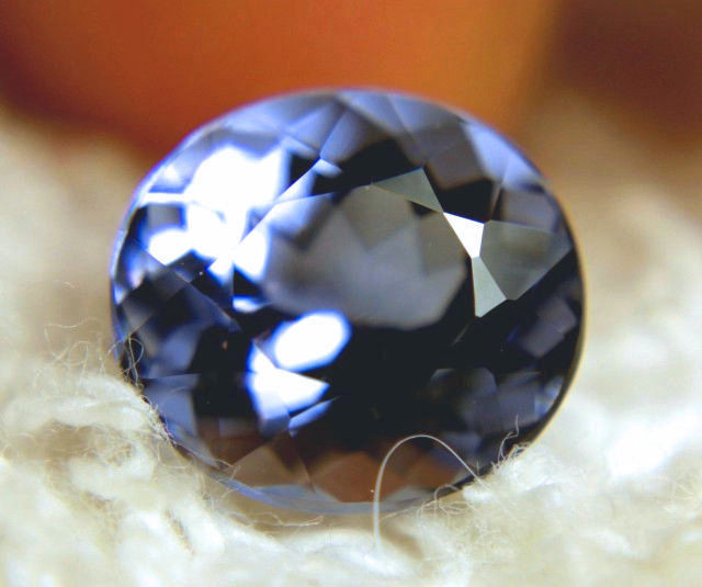 3.36 Carat Maxixe Blue Beryl - Superb