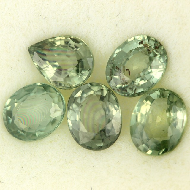 2.55 CTS GREEN SAPPHIRE PARCEL-ACCENT [ST8615]