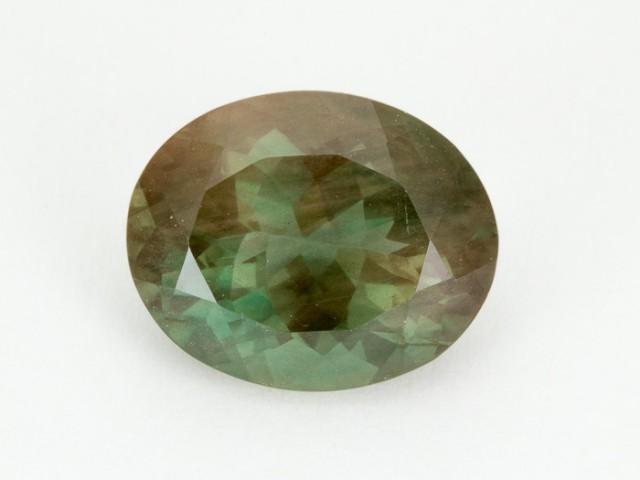 7.1ct Green Oval Sunstone (S2073)
