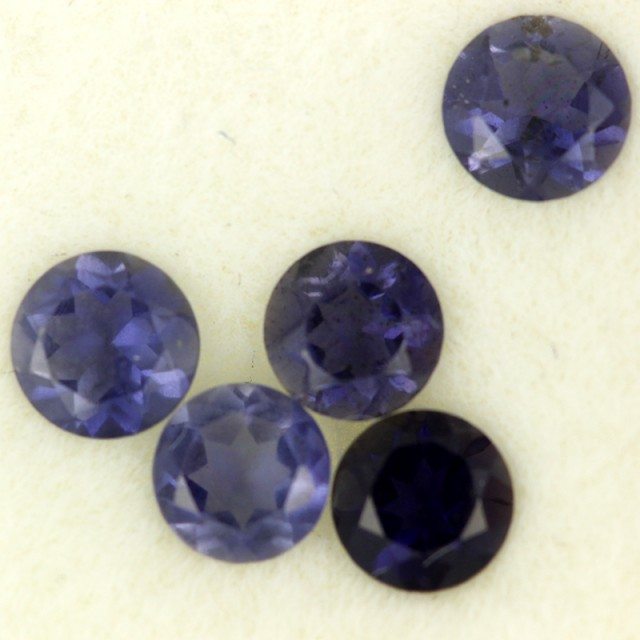 1.09 CTS PURPLE BLUE IOLITE - THE WATER SAPPHIRE  [ST8628]