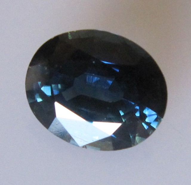 2.62cts Natural Australian Blue Sapphire Oval Cut