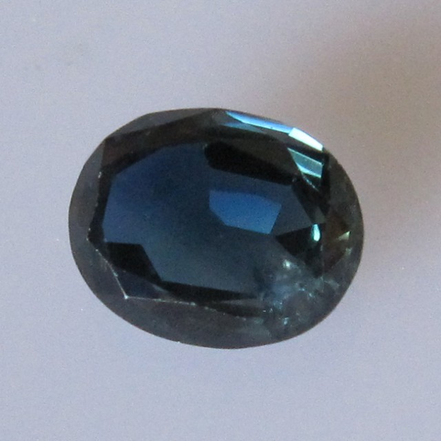 2.25cts Natural Australian Blue Sapphire Oval Cut
