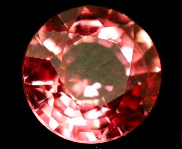 CERTIFIED PADPARASADSCHA SAPPHIRE UNTREATED  O.78CTS  TBM-460