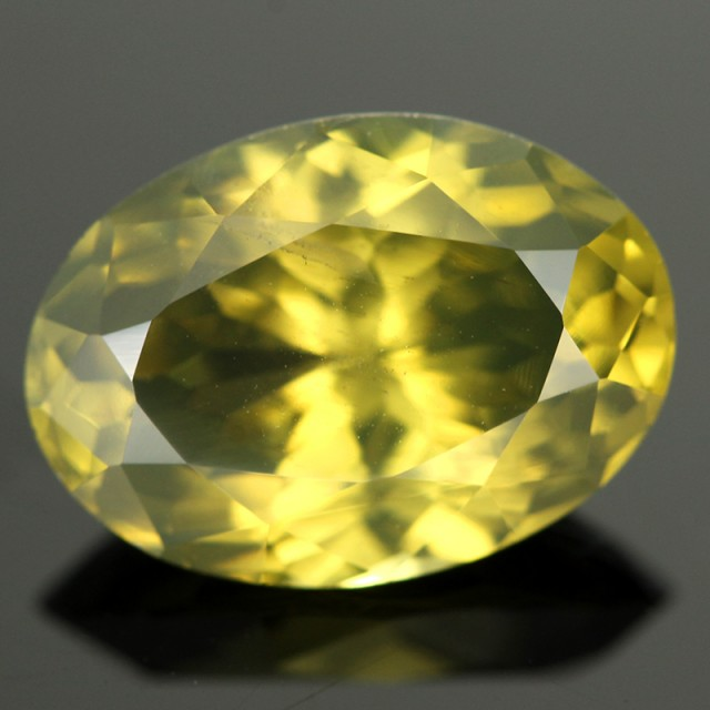 5.97CTS YELLOW ZIRCON - RARE COLOUR [ZCY23]