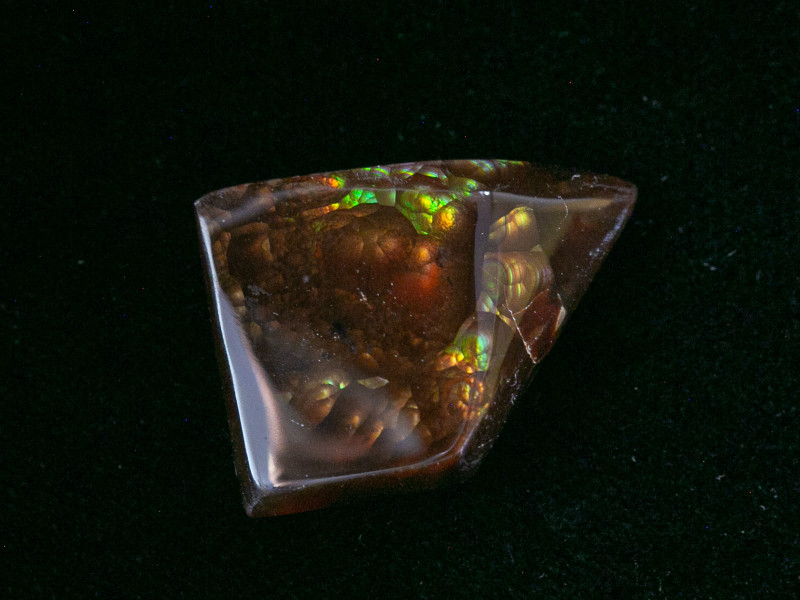 14.4ct Polished Mexican Fire Agate (MA100)