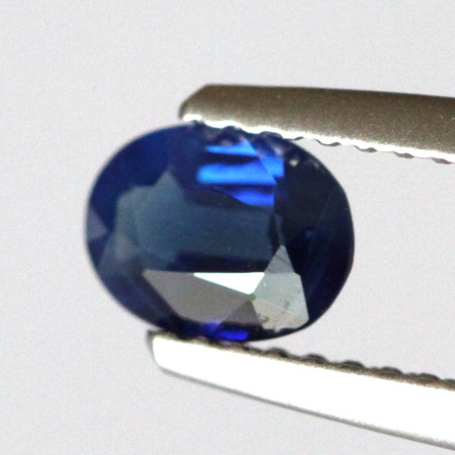 0.58cts Natural Australian Sapphire Oval Cut