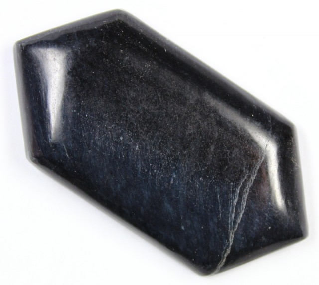 74.2 CTS TIGER EYE STONE DYED TO LOOK LIKE OBSIDIAN