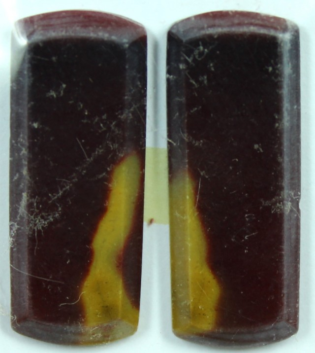 22.1 CTS JASPER PAIR POLISHED STONE GREAT RANGE IN STORE