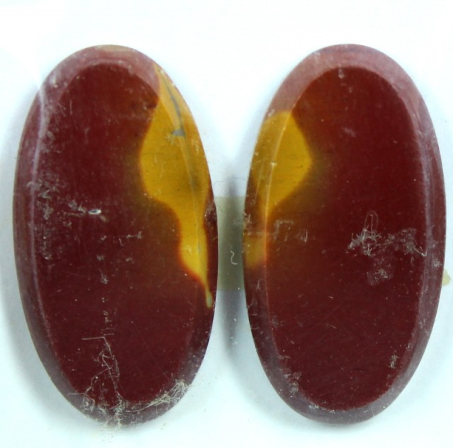 25.0 CTS JASPER PAIR POLISHED STONE GREAT RANGE IN STORE