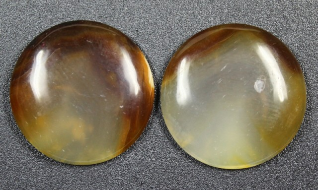 30.0CTS WYOMING AGATE PAIR PERFECT FOR EARRINGS