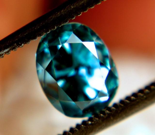2.68 Carat VVS Blue Southeast Asian Zircon - Gorgeous