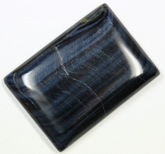 115.7 CTS TIGER EYE STONE DYED TO LOOK LIKE OBSIDIAN
