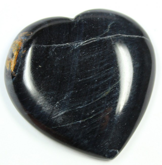 73.3 CTS TIGER EYE STONE DYED TO LOOK LIKE OBSIDIAN