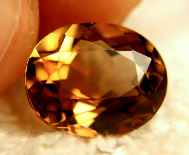 6.39 Carat VVS1 Natural South American Topaz