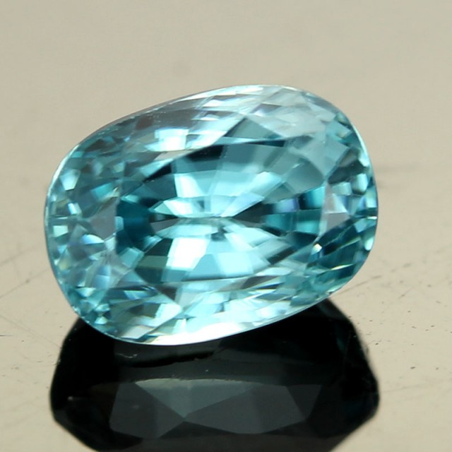 2.48 CTS CAMBODIAN SKY BLUE ZIRCON - [ST8985]