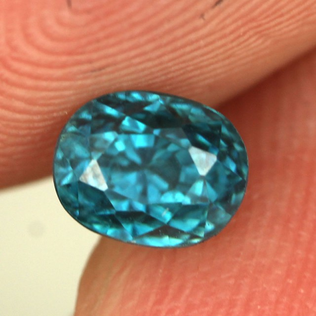 1.54 CTS CAMBODIAN SKY BLUE ZIRCON - [ST8989]