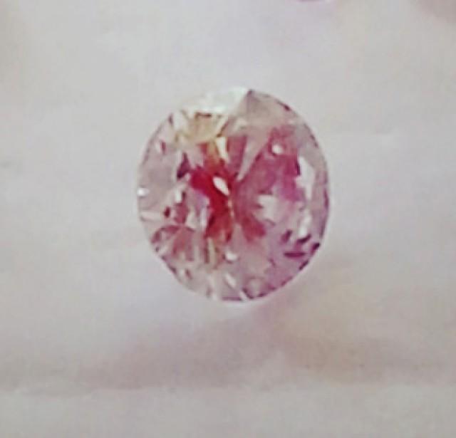 NATURAL-VERYRARE -ARGYLE PINK DIAMOND 3MMSIZE -1PCS