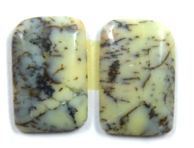 8.1 CTS JASPER PAIR POLISHED STONE GREAT RANGE IN STORE
