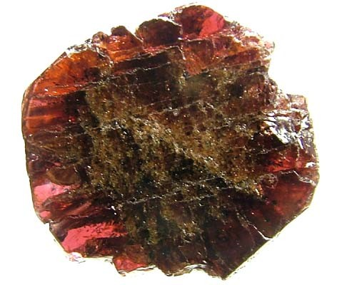 GARNET BEAD NATURAL DRILLED 24.40 CTS NP542