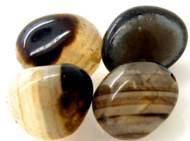 80 cts AGATE BOTSWANA DRILLED NATURAL PC  NP-260