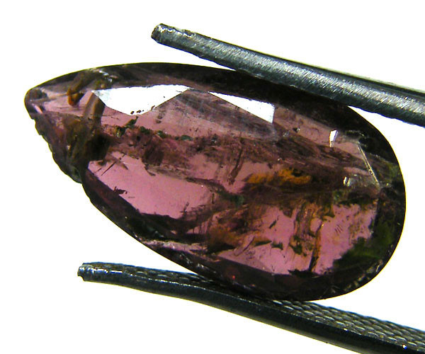 OLD TRIBAL CUT TOURMALINE GEMSTONE 5.40 CTS GW 1587-11