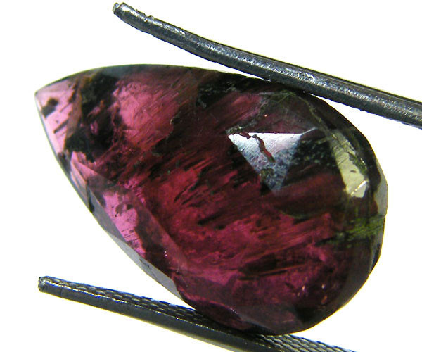 OLD TRIBAL CUT TOURMALINE GEMSTONE 12 CTS GW 1587-18