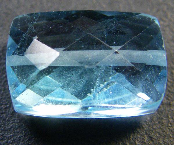 NATURAL BLUE TOPAZ BEAD 7.40 CTS GW 1451-18