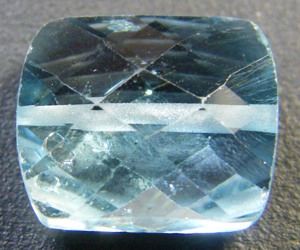 NATURAL BLUE TOPAZ BEAD 7.25 CTS GW 1451-20